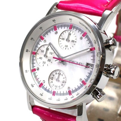 dkny damenuhr chronograph lederarmband pink ny4929 ebay. Black Bedroom Furniture Sets. Home Design Ideas