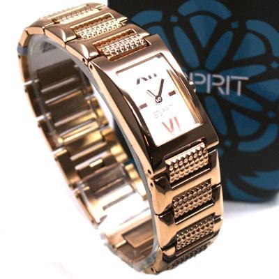Esprit-Damenuhr-Pure-Juliet-Rosegold-elegante-Damen-Uhr-ES100042009-UVP-90-Euro