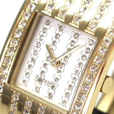 Esprit Damen Uhr Galaxy clara gold Houston Spangenuhr Strass UVP* 169 Euro