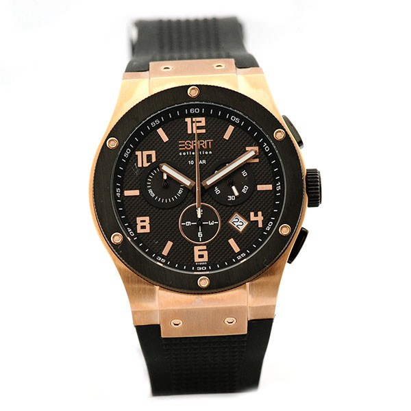 Esprit collection herren armbanduhr xl phorkus