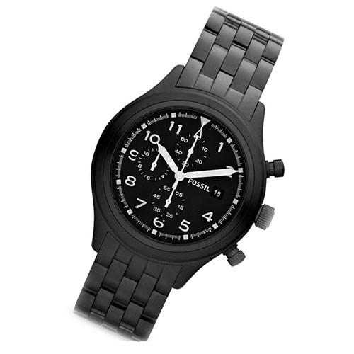 fossil herrenuhr compass chronograph datum gun color quarz. Black Bedroom Furniture Sets. Home Design Ideas
