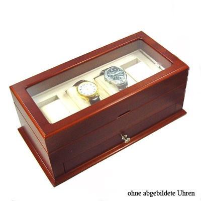 Edle Uhrenbox aus Echtholz