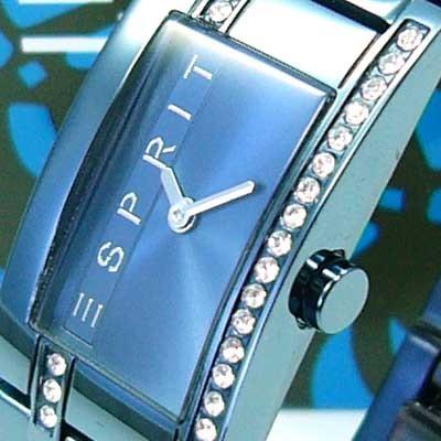 Houston Metallic blue TEXAS Damenuhr