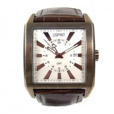 esprit-classic-hero-brown-men-s-watch-leather-date-gmt-quartz-copper-retro-4389484