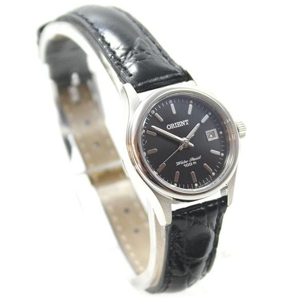orient montre lady fashion elegante montre pour femme noir dateur quartz cuir fsz2f004b0. Black Bedroom Furniture Sets. Home Design Ideas