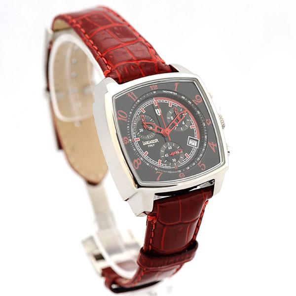 lancaster uhr unico watch quarz chrono datum leder. Black Bedroom Furniture Sets. Home Design Ideas