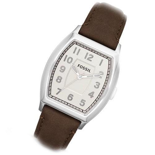 Uhr Narrator Lederband braun elegante Herrenuhr Quarz FS4880