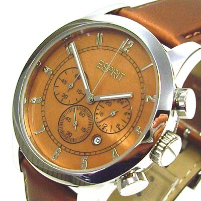 Rotunda Brown Chrono Herrenuhr ES000ER1007