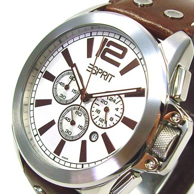 Chrono Sigma Visio Brown Herrenuhr 4418638
