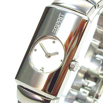 Silver Tube Damenuhr ES000L12002