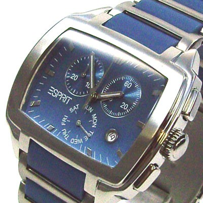 Cinema Blue Chrono Herrenuhr ES000W91002
