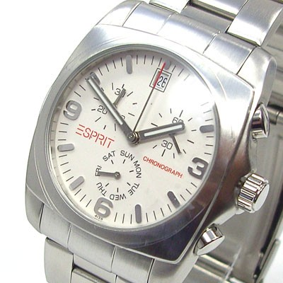 Canyon Silver Metal Chrono Herrenuhr