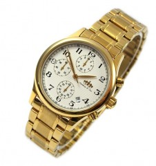 lindberg-sons-chronograph-date-round-ladie-s-bracelet-wristwatch-gold-ls-87214